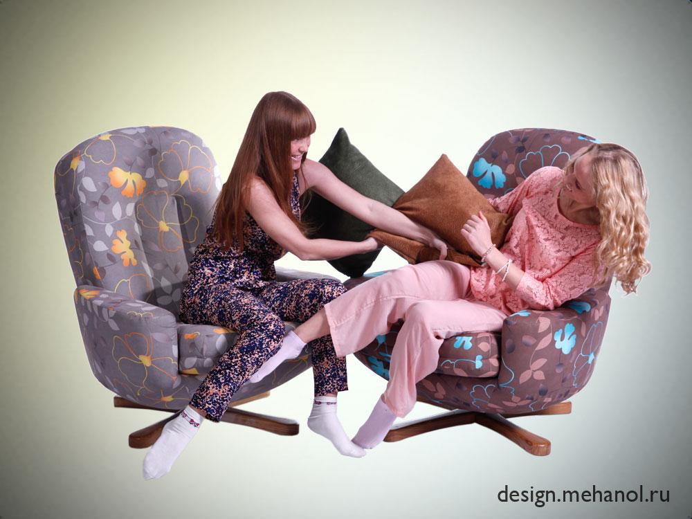 Кресло реклайнер механол фотосессия