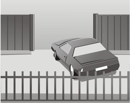 Недостаточная ширина проема ворот