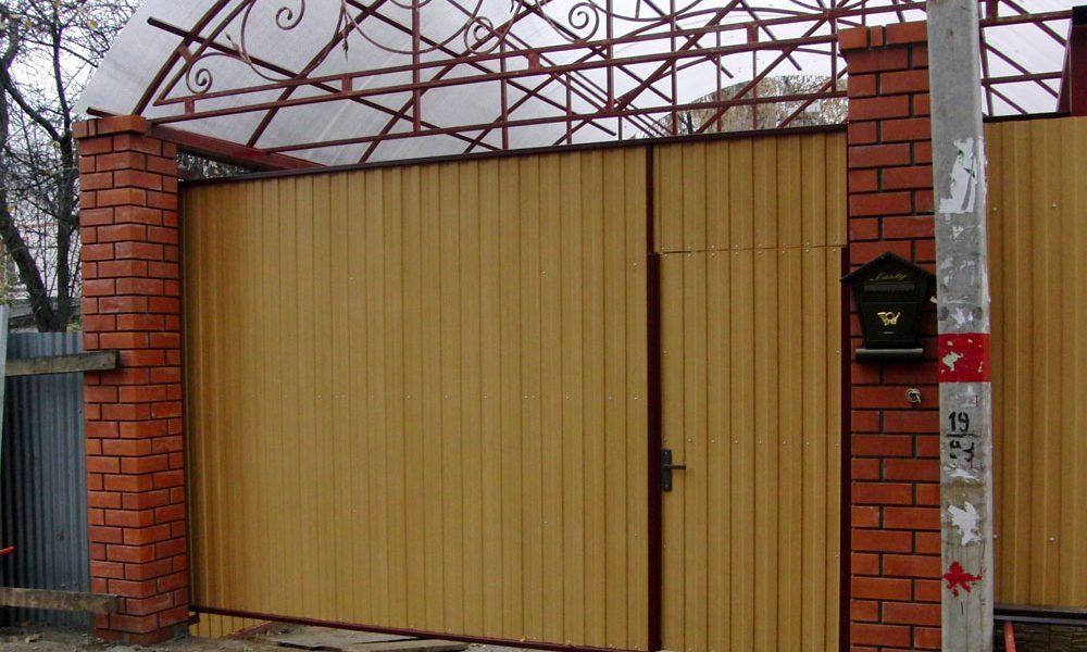 Подвесные ворота Механол