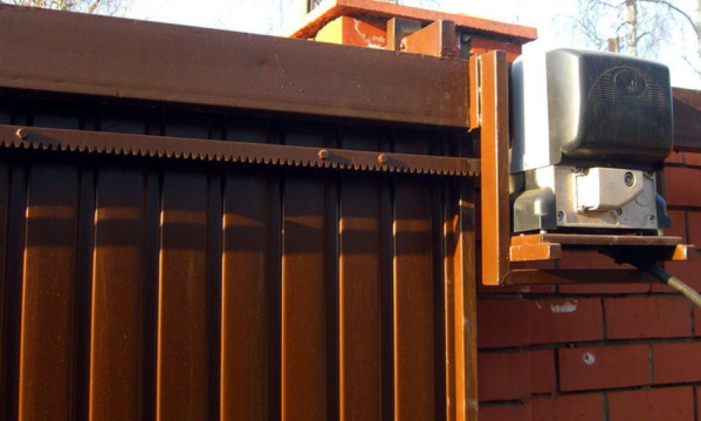 Подвесные ворота Механол привод